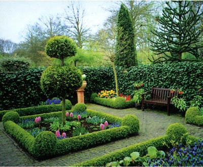 Понятие о стилях садов исторически